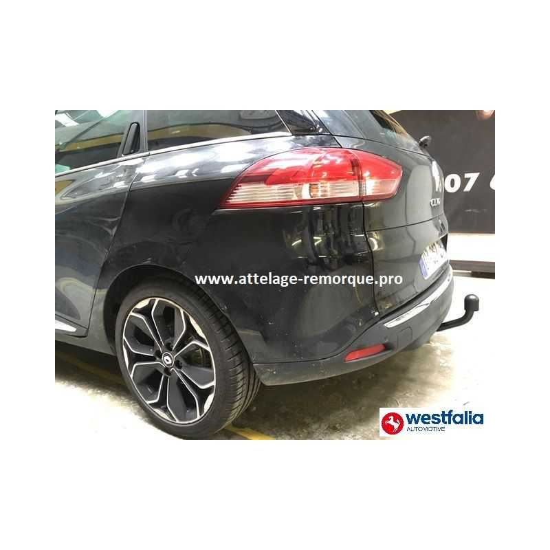 ATTELAGE RENAULT CLIO III ESTATE BREAK COL DE CYGNE SIARR