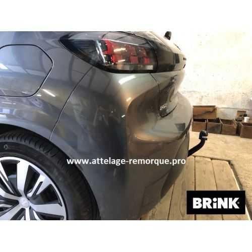 ATTELAGE PEUGEOT 208 2020 COL DE CYGNE BRINK / THULE