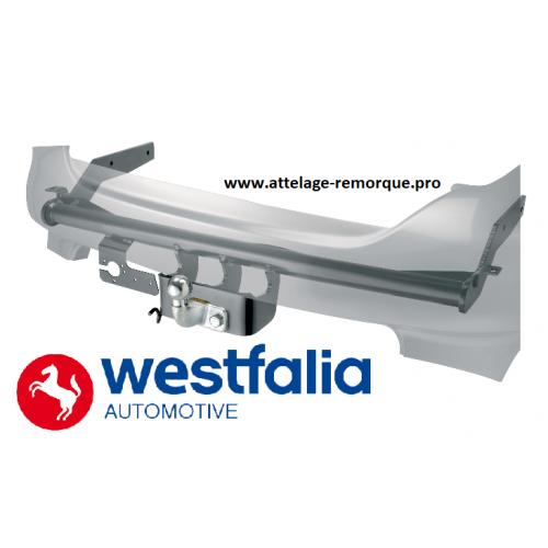 Attelage remorque pour FIAT PANDA III